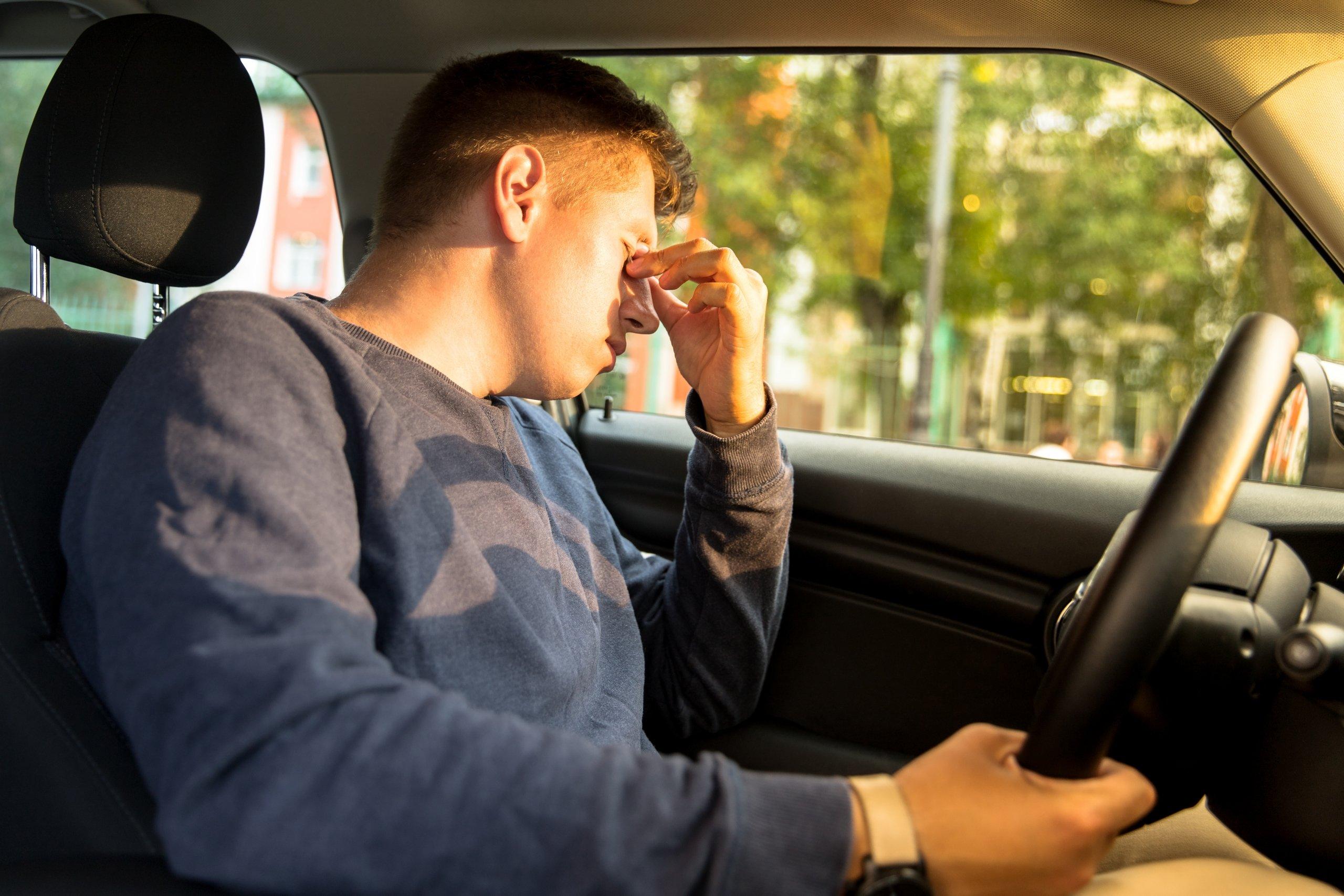 sleepy teen age driver